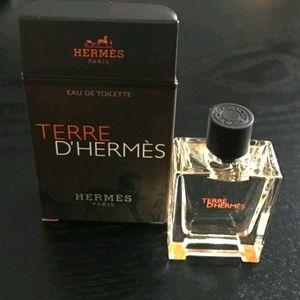 NEW Hermes Terre d'Hermes Deluxe Sample